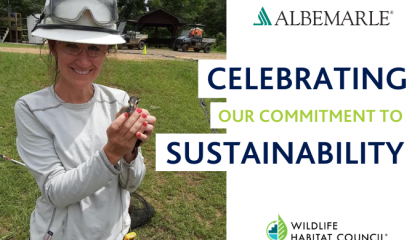 Celebrating Sustainability with Albemarle